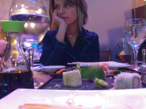 Sushi at Shogun in Beirut