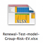 Example Group Risk EV model