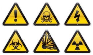 example Warning signs